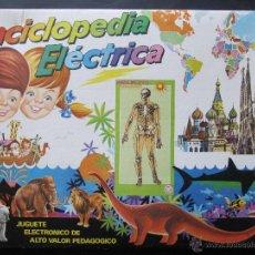 Juegos educativos: ENCICLOPEDIA ELECTRONICA. EL CUERPO HUMANO. MARCA PSE. AÑOS 80. Lote 52723197
