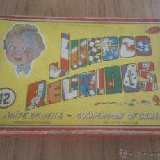 Juegos educativos: GEYPER CAJA JUEGOS REUNIDOS Nº 12 . Lote 52773718