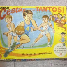 Juegos educativos: JUEGO DE MESA MINI CESTA Y TANTOS… DE PSE. JUGUETE ELECTRÓNICO. VER FOTOS. Lote 53215692