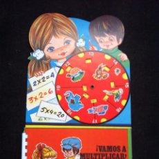 Juegos educativos: ANTIGUO JUEGO EDUCATIVO VAMOS A MULTIPLICAR. AÑOS 80. A ESTRENAR. PARA APRENDER LAS TABLAS JUGANDO. Lote 53267897