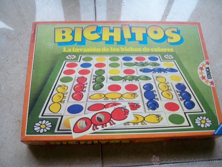 Juego De Mesa Educativo Bichitos Educa La Invas Comprar Juegos