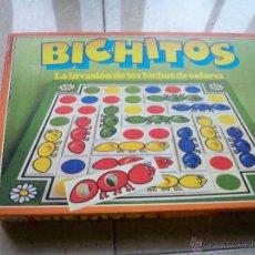 Juegos educativos: JUEGO DE MESA EDUCATIVO BICHITOS EDUCA LA INVASION DE LOS BICHOS DE COLORES AÑOS 80. Lote 53482389