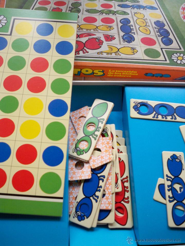 Juegos educativos: JUEGO DE MESA EDUCATIVO BICHITOS EDUCA LA INVASION DE LOS BICHOS DE COLORES AÑOS 80 - Foto 2 - 53482389