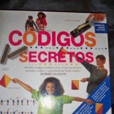 Juegos educativos: CODIGOS SECRETOS EDICIONES B ROBERT JACKSON LIBRO JUEGO. Lote 53556793