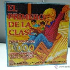 Juegos educativos: EL PRIMERO DE LA CLASE - 1000 PREGUNTAS - FALOMIR - 1987 - REF. 1710. Lote 53942938