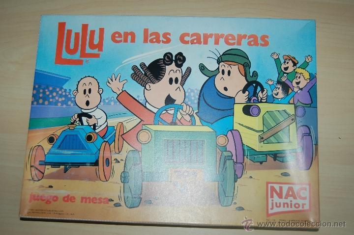 LULU EN LAS CARRERAS DE NAC JUNIOR (Juguetes - Juegos - Educativos)