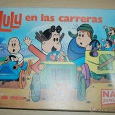 Juegos educativos: LULU EN LAS CARRERAS DE NAC JUNIOR. Lote 53980794