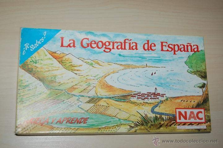 LA GEOGRAFIA DE ESPAÑA DE NAC JUNIO (Juguetes - Juegos - Educativos)