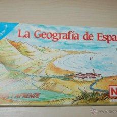 Juegos educativos: LA GEOGRAFIA DE ESPAÑA DE NAC JUNIO. Lote 53981506