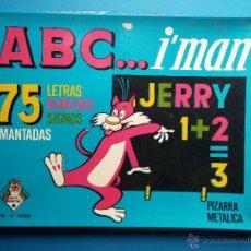 Juegos educativos: ABC... I´MAN, JUEGOS INSTRUCTIVOS, PIZARRA METALICA. Lote 54319546
