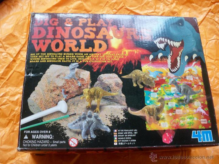 DINOSAURS WORLD DIG PLAY EXCAVACION DINOSAURIOS (Juguetes - Juegos - Educativos)