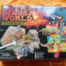 Juegos educativos: DINOSAURS WORLD DIG PLAY EXCAVACION DINOSAURIOS. Lote 54433783