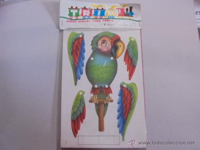 MUÑECOS CON MOVIMIENTO - MOVILES NIÑOS - LORO / CHINO - PRECINTADOS - AÑO 1968 TRIN (Juguetes - Juegos - Educativos)