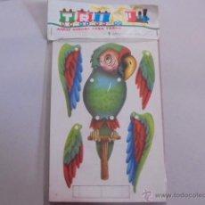 Juegos educativos: MUÑECOS CON MOVIMIENTO - MOVILES NIÑOS - LORO / CHINO - PRECINTADOS - AÑO 1968 TRIN. Lote 54527134