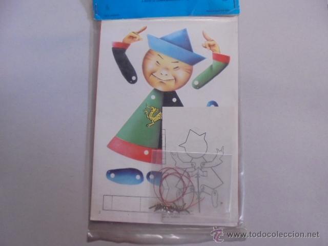 Juegos educativos: MUÑECOS CON MOVIMIENTO - MOVILES NIÑOS - LORO / CHINO - PRECINTADOS - AÑO 1968 TRIN - Foto 2 - 54527134