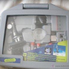 Juegos educativos: MICROSCOPIO DE METAL Y PLASTICO-EDU SCIENCE-EN SU CAJA.. Lote 54555308
