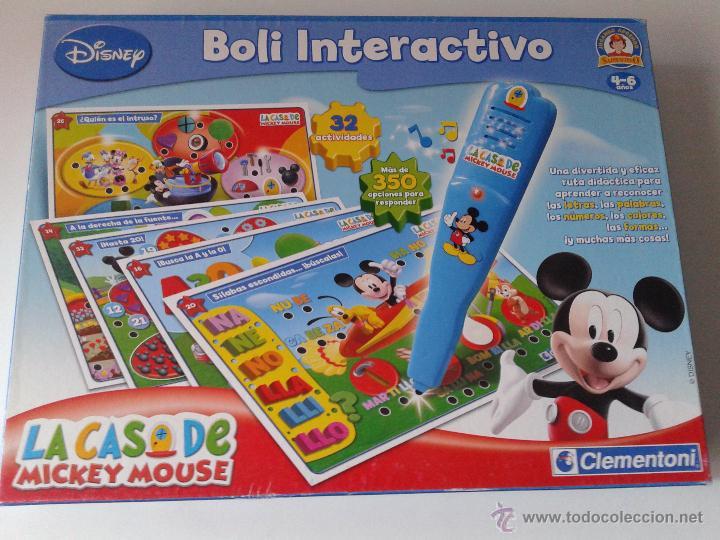 Casa De Mickey Mouse Boli Interactvo 4 6 Anos Comprar Juegos