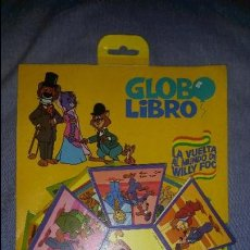 Juegos educativos: COLECCIÓN GLOBO LIBRO WILLY FOG - MONTENA - CON EXPOSITOR - RARA. Lote 54708472