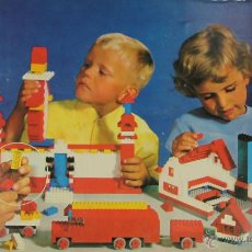 Juegos educativos: JUEGO DE CONSTRUCCION LEGO MODELO 060. COMPLETO. 1965.. Lote 51040578
