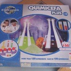 Juegos educativos: QUIMICEFA PLUS DE CEFA JUEGOS. Lote 55115778