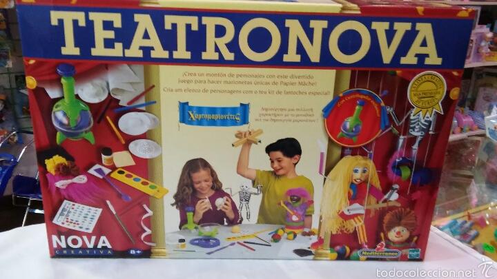 TEATRONOVA.SERIE CREATIVA MEDITERRANEO NOVA 90S.NUEVO EN CAJA CERRADA. (Juguetes - Juegos - Educativos)