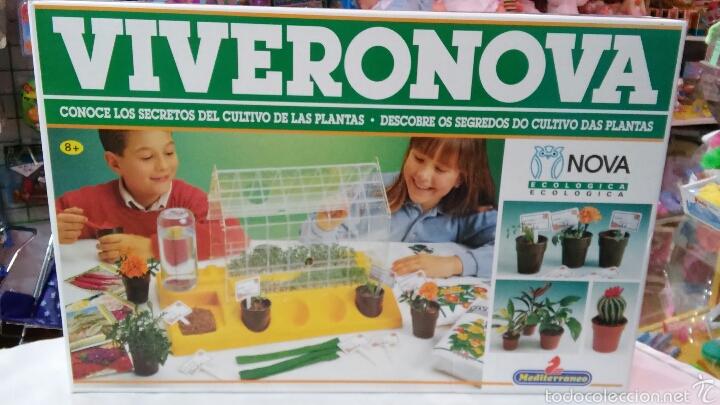 VIVERONOVA CON INVERNADERO.SERIE ECOLÓGICA MEDITERRANEO NOVA 90S.NUEVO EN CAJA SIN ABRIR. (Juguetes - Juegos - Educativos)