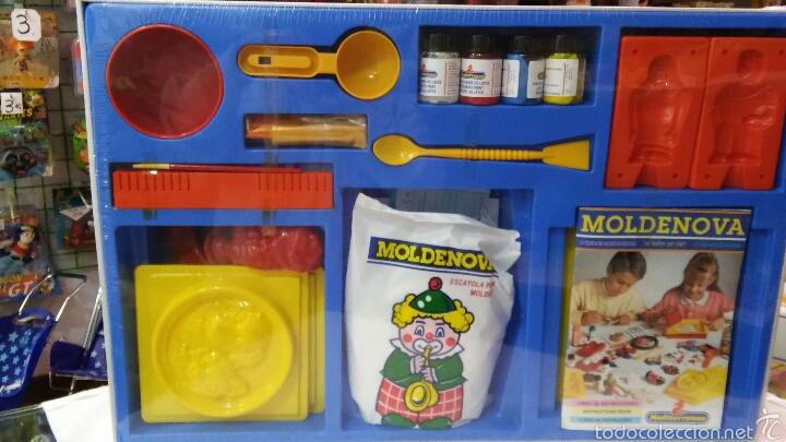 Juegos educativos: MOLDENOVA ESCAYOLA.SERIE CREATIVA MEDITERRANEO NOVA 90S.NUEVO EN CAJA SELLADA. - Foto 2 - 195227546