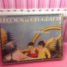 Juegos educativos: JUEGO ANTIGUO LECCIÓN DE GEOGRAFÍA,ESTELA.. Lote 55784414