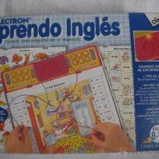 Juegos educativos: LECTRON - APRENDO INGLES. Lote 55925704