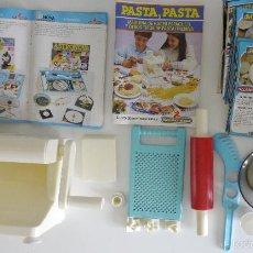 Juegos educativos: JUEGO PASTA, PASTA / MEDITERRANEO NOVA AÑOS 90 SIN CAJA.. Lote 56373488
