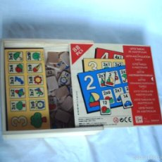 Juegos educativos: JUEGO EDUCATIVO TABLAS DE MULTIPLICAR. Lote 56877496