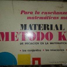 Juegos educativos: ANTIGUO JUEGO MATERIAL DEL METODO KML DE LA CASA DIDACTA. Lote 56935371