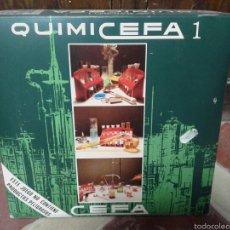 Juegos educativos: JUEGO EDUCATIVO DE QUIMICA QUIMICEFA 1 DE CEFA TOYS. Lote 57049372