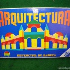 Juegos educativos: ARQUITECTURA DE MADERA DE JUPDOSA JUP - NUEVO. Lote 57093455