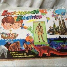 Juegos educativos: ENCICLOPEDIA ELECTRICA PSE. NUEVA. Lote 194533873