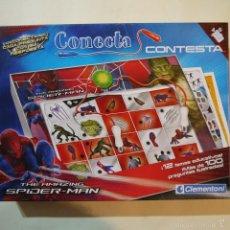 Juegos educativos: CONECTA THE AMAZING SPIDERMAN - CLEMENTONI - 2012 - JUEGO COMPLETO. Lote 57419370