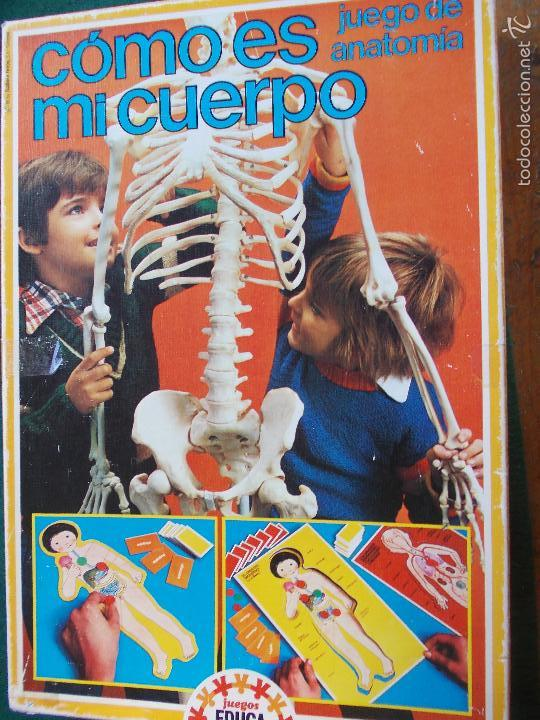 JUEGO DE LOS 80 COMO ES MI CUERPO (Juguetes - Juegos - Educativos)