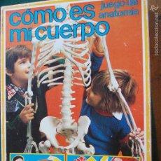 Juegos educativos: JUEGO DE LOS 80 COMO ES MI CUERPO. Lote 57501055