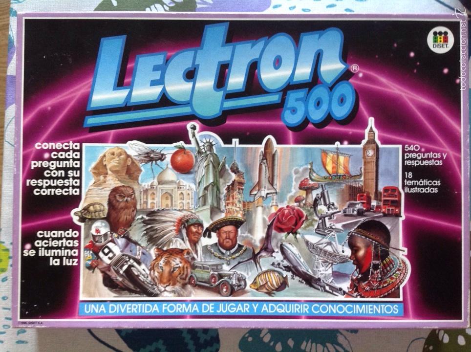 Lectron 500 De Diset 1990 Comprar Juegos Educativos Antiguos En