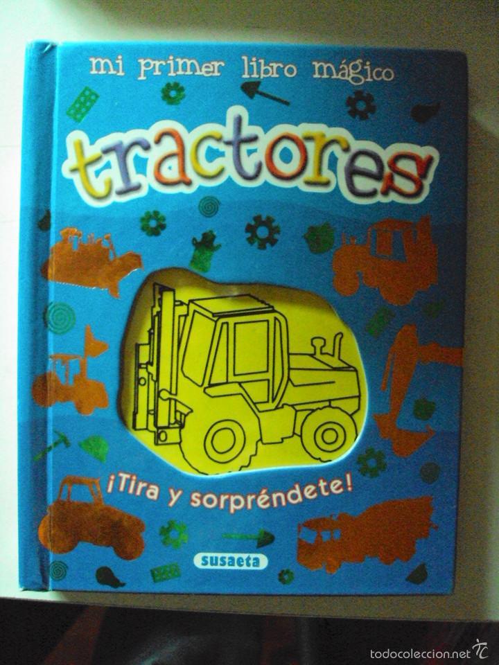 MI PRIMER LIBRO MAGICO: TRACTORES (Juguetes - Juegos - Educativos)