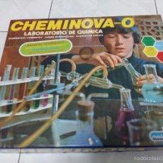 Juegos educativos: CHEMINOVA 0 MEDITERRÁNEO. JUEGO EDUCATIVO VINTAGE LABORATORIO QUÍMICA AÑOS 70 80, SIMILAR QUIMICEFA. Lote 57874970