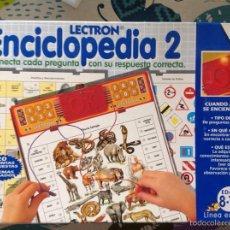 Juegos educativos: LECTRON ENCICLOPEDIA 2 DE DISET. Lote 57951863