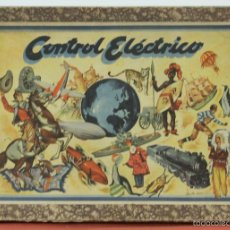 Juegos educativos: CONTROL ELECTRICO. JUEGO DE MESA. AGAPITO BORRAS. BUEN ESTADO. CIRCA 1940. . Lote 57987210