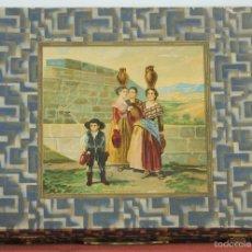 Juegos educativos: ANTIGUO JUEGO DE PINTURAS BURGEOIS AINE. COMPLETO. CIRCA 1940. . Lote 57989954
