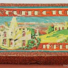 Juegos educativos: ARQUITECTURA IMPERIO. JUEGO DE CONSTRUCCION DE MADERA. CIRCA 1950. . Lote 57990744