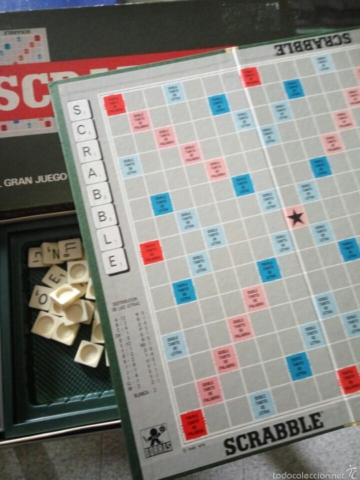 Juegos educativos: Juego scrabble borras, años 70 - Foto 3 - 58159460