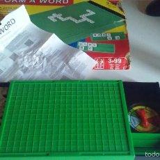 Juegos educativos: FORM A WORD. Lote 58229392