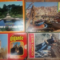 Juegos educativos: LOTE DE PUZZLES EDUCA , DALMAU, DISET. Lote 58443084