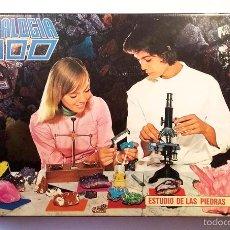 Juegos educativos: ANTIGUO JUEGO DE MINERALES - MINERALOGIA 2000 - AÑOS 70. Lote 58477045