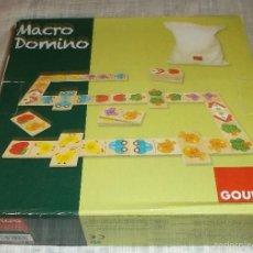 Juegos educativos: MACRO DOMINO DE MADERA CASA GOULA. Lote 58501787